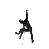 Climbing Man C - Black Gloss