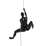 Climbing Woman D - Black Gloss