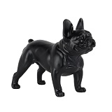 French Bulldog Standing - Matte Black