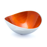Golden Sunset Oval Bowl 10cm
