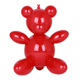 Balloon Teddy Bear - Red