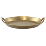 Rough Gold 39cm Oval Tray