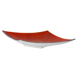 Golden Sunset Orange Angular Platter 42cm