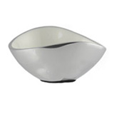White Oval Bowl 17cm