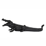 Crocodile Large - Matte Black