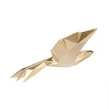 Origami Flying Bird Small - Gold