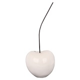 White Cherry Small Ornament