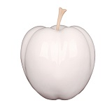 Apple Sculpture - White
